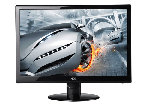 AOC E2752VH 27-Inch Widescreen LED Monitor - Black give10back givetenback computer pc monitor gaming dvd hdmi vga tv electronics screen