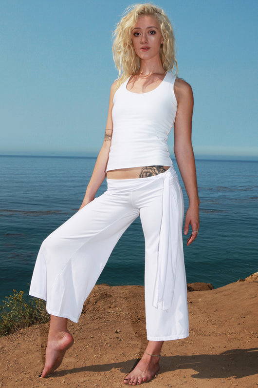 8f918975ab Eco-Friendly Organic Cotton & Rayon from Bamboo Yoga Pants ...