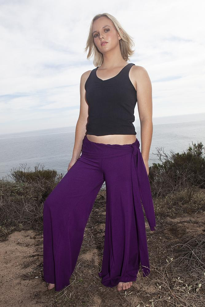 Wide Leg Flare Yoga Pants