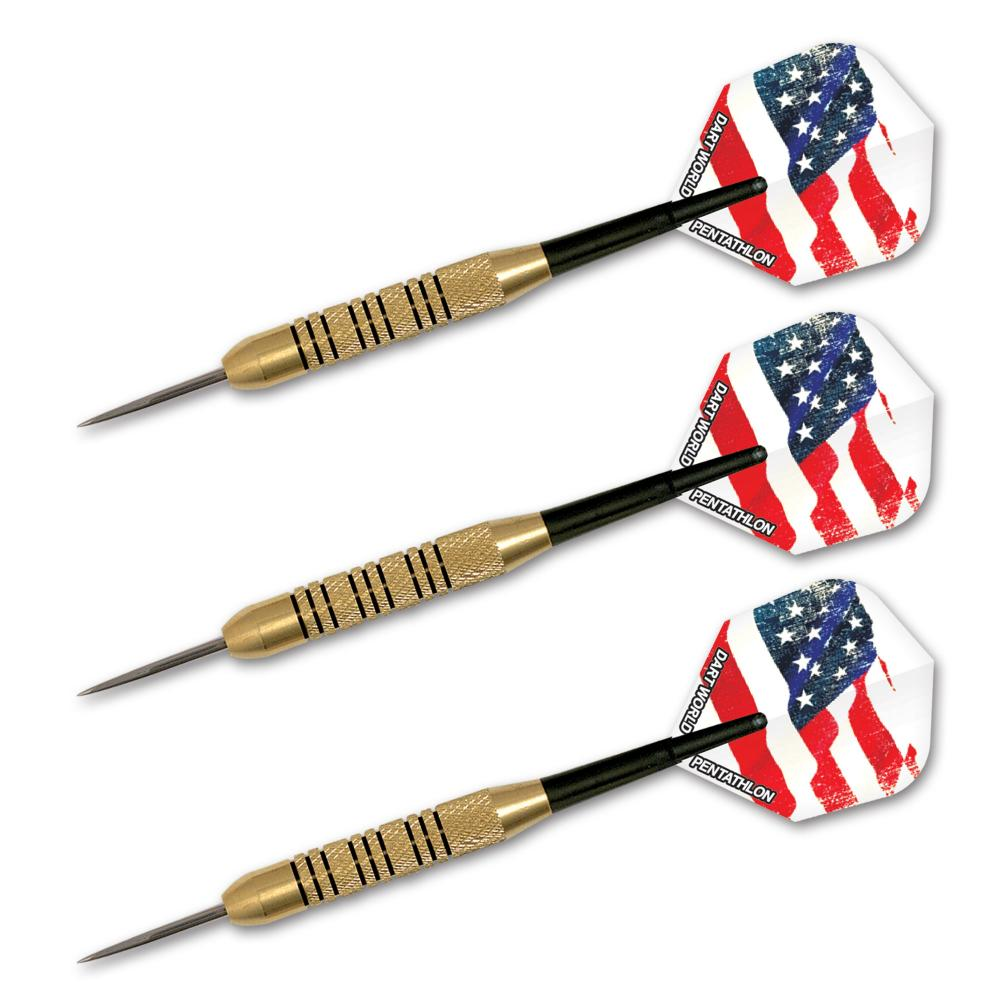 Patriot Brass 23 gr  Steel Tip Darts 13875