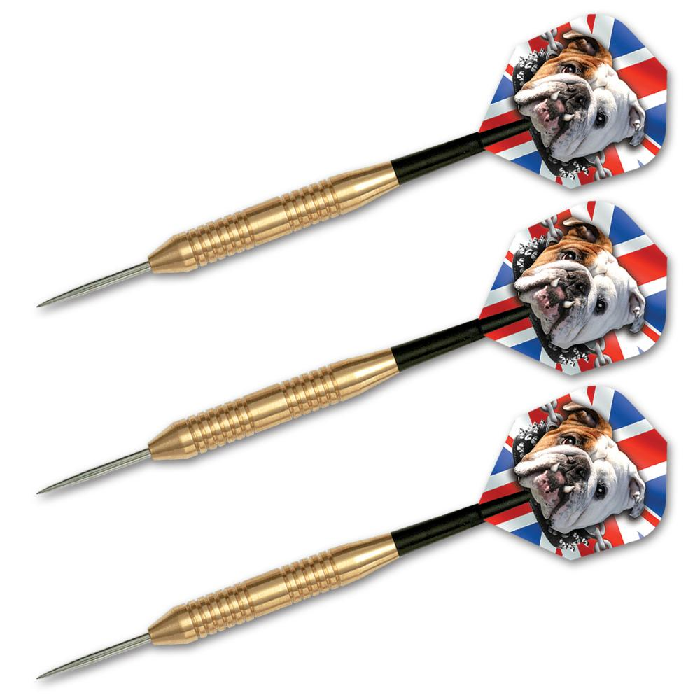 Bulldog Brass 24gr  Steel Tip Darts 15124