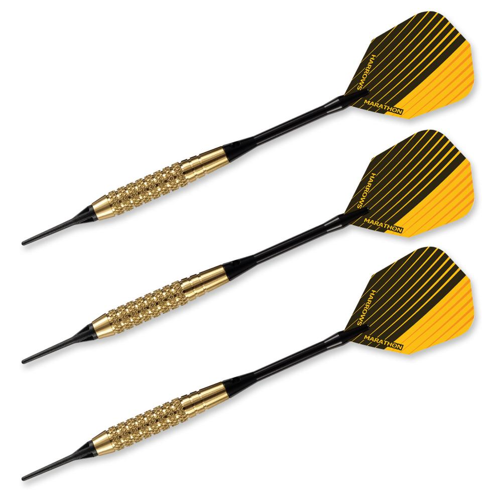 Club Brass 16 OR 18 gr  Soft Tip Darts 54707