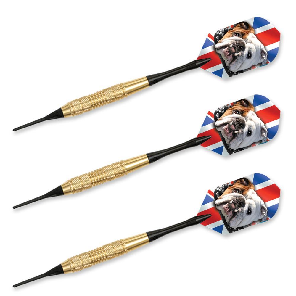 Bulldog Brass 16gr  Soft Tip Darts 66516