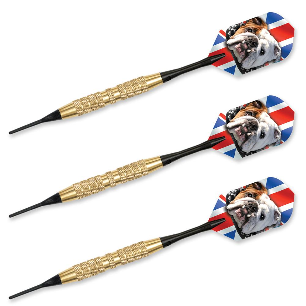 Bulldog Brass 20 gr  Soft Tip Darts 66720