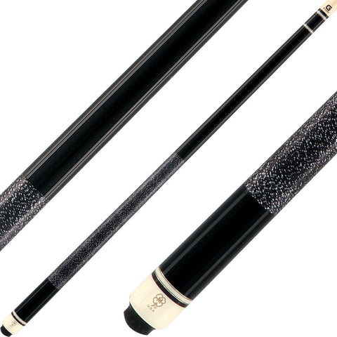 McDermott Cues G Series Black Spies Hecker Paint G206