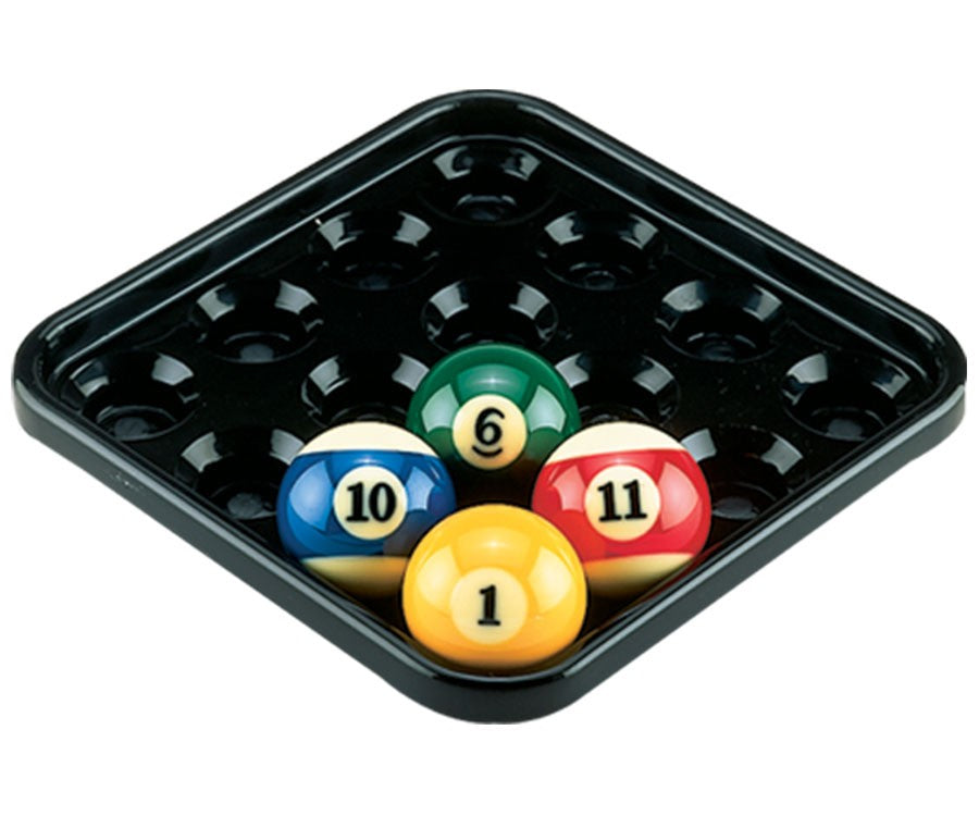 Action Billiards And Pool Balls Tray