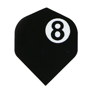 Poly Royal Hard Flights Standard Eight Ball