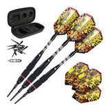 JAGUAR TUNGSTEN SOFT TIP DARTS SILVER BARREL