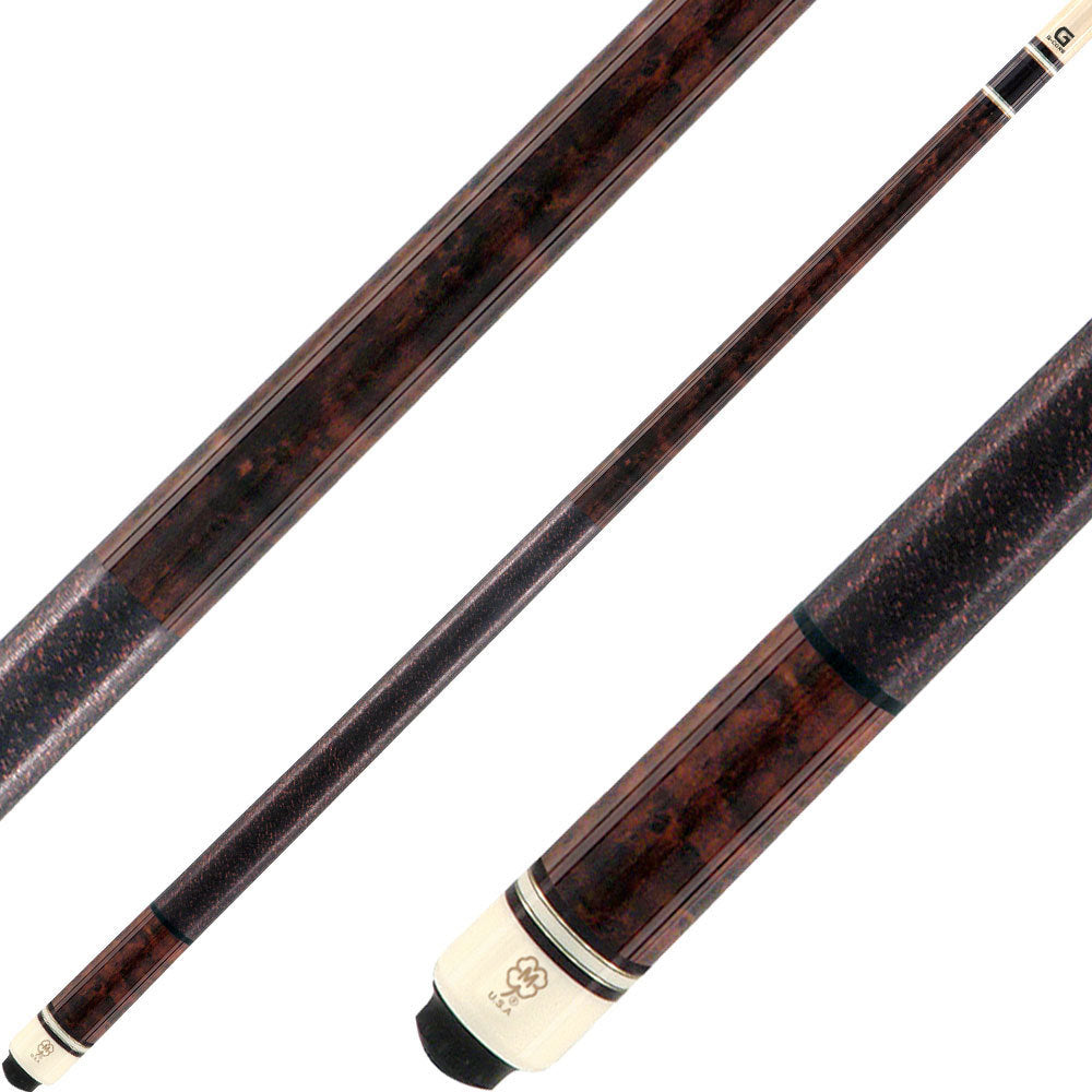 McDermott Cues G Series Dark English European Organic Stain G203