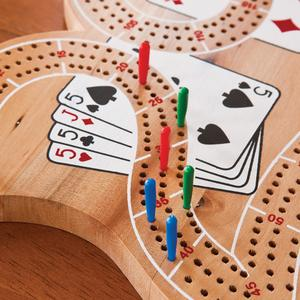 "Mainstreet Classics Wooden ""29"" Cribbage Board"