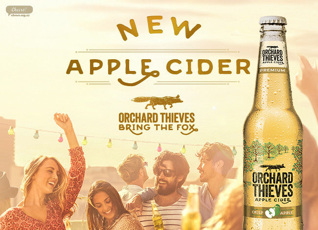 ORCHARD THIEVES CRISP APPLE CIDER