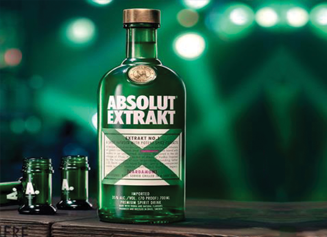 Introducing: Absolut Extrakt