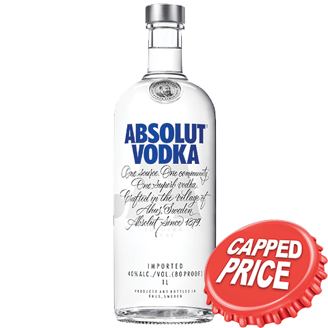 Capped - Absolut 1L