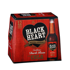 Blackheart & Cola 12pk