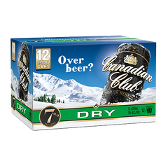 Canadian Club & Dry 7% 12pk