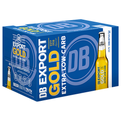 DB Export Gold Extra Low Carb Lager 24pk