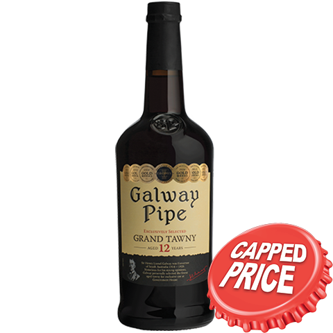 Capped - Galway Pipe Fine Old Tawny