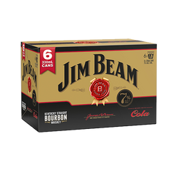 Jim Beam Gold 7% 6pk