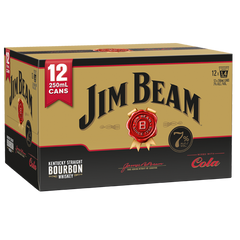 Jim Beam Gold 7% 12pk