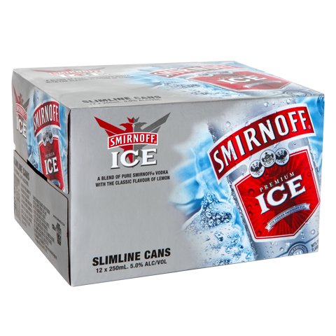 3 Day Deal - Smirnoff Ice Red 5% 12pk
