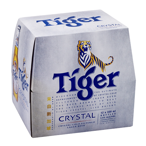 Tiger Crystal 12pk