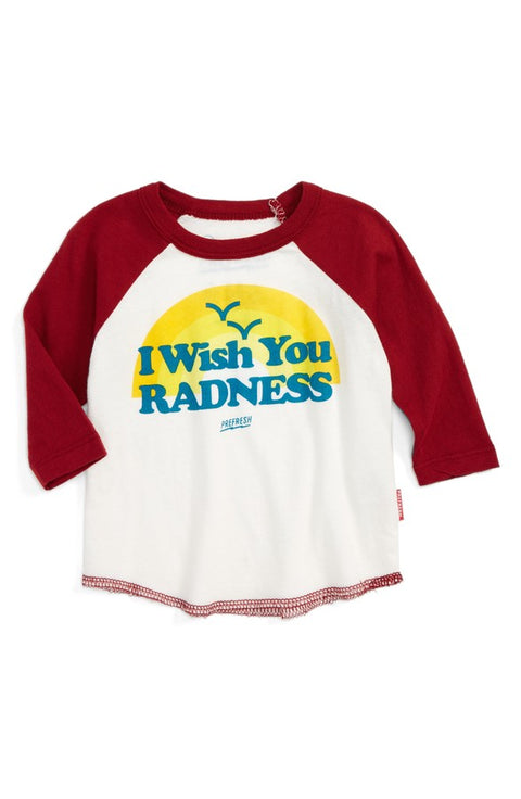 Wish You Radness Raglan
