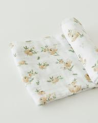 Yellow Rose Swaddle