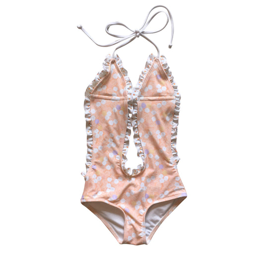 Ruffles Peaches One Piece