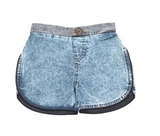 Chambray Acid Boy Shorts