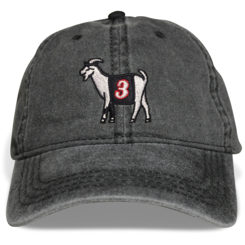 Philly #3 GOAT Dad hat (Black)