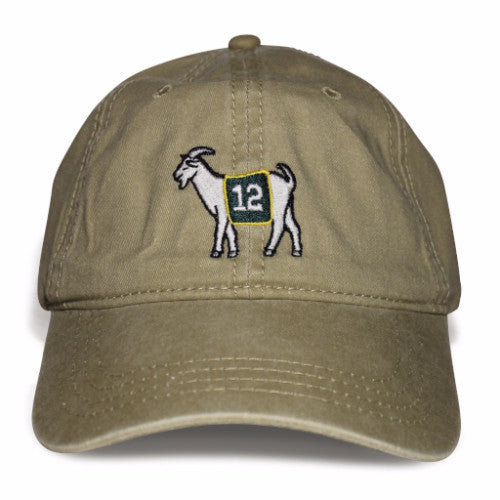 Green Bay #12 GOAT Dad hat
