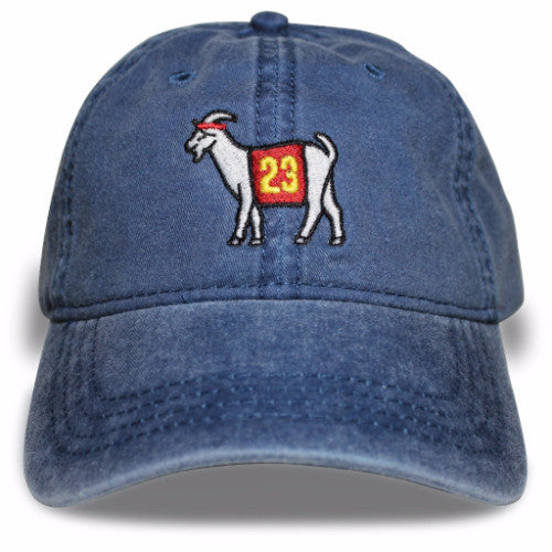 Cleveland #23 GOAT Dad hat (Navy)