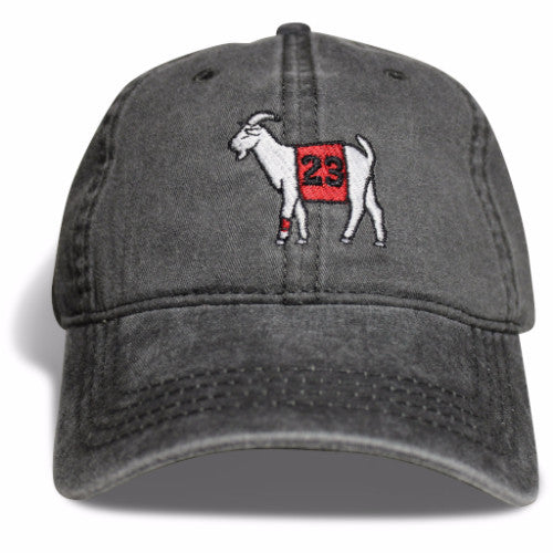 Chicago #23 GOAT Dad hat (Black)