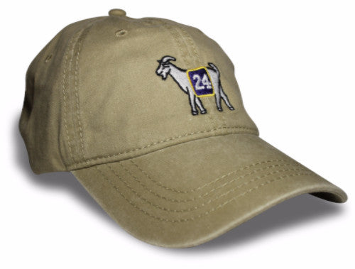 Los Angeles #24 GOAT Dad hat (Khaki)