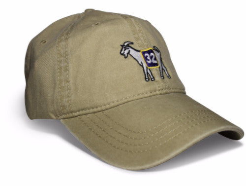 Los Angeles #32 GOAT Dad hat (Khaki)