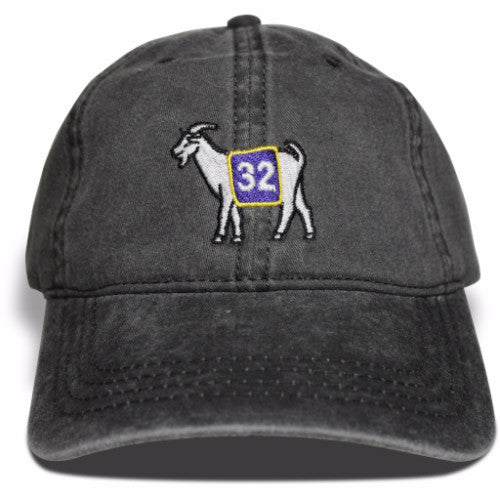 Los Angeles #32 GOAT Dad hat (Black)