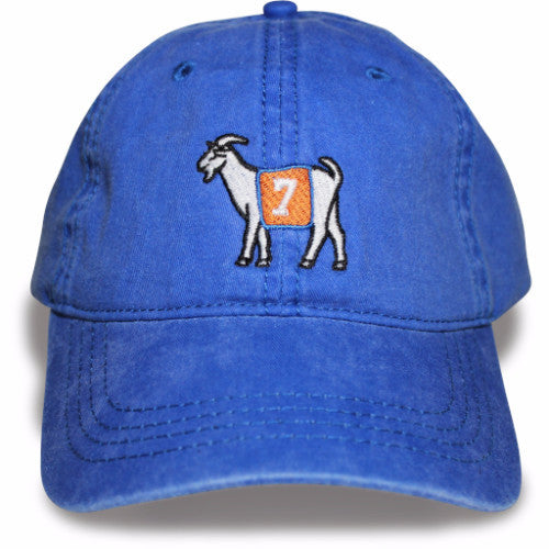 Denver #7 GOAT Dad hat (Blue)
