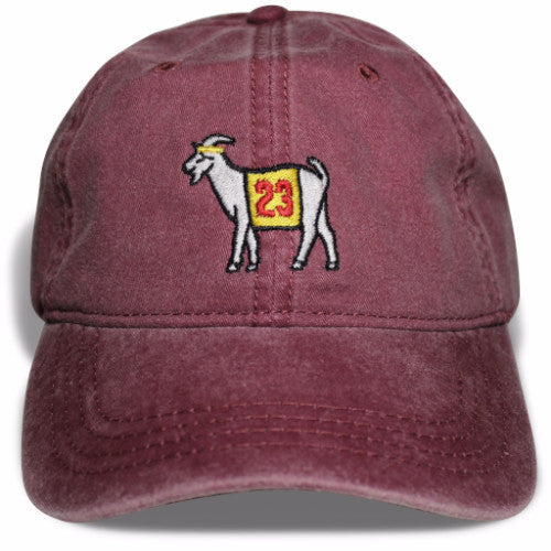Cleveland #23 GOAT Dad hat (Maroon)