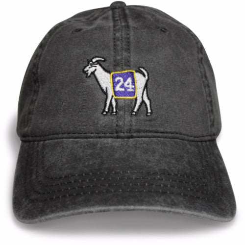 Los Angeles #24 GOAT Dad hat (Black)