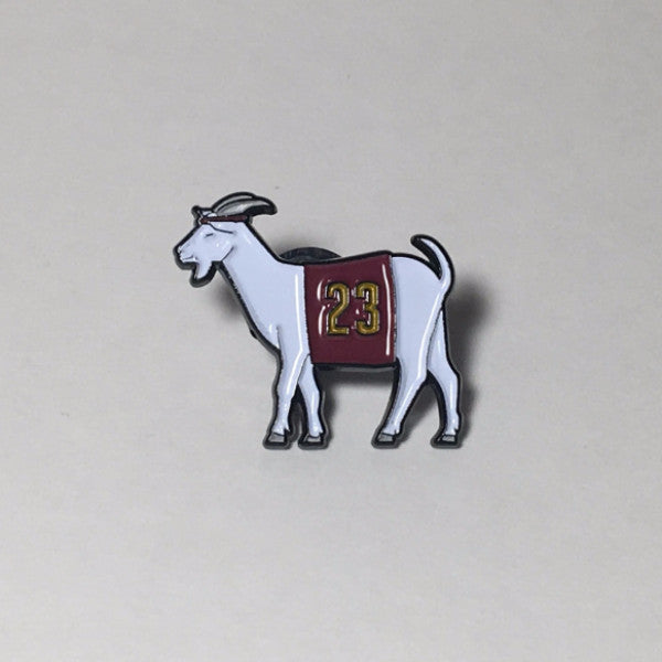 Cleveland #23 GOAT Pin