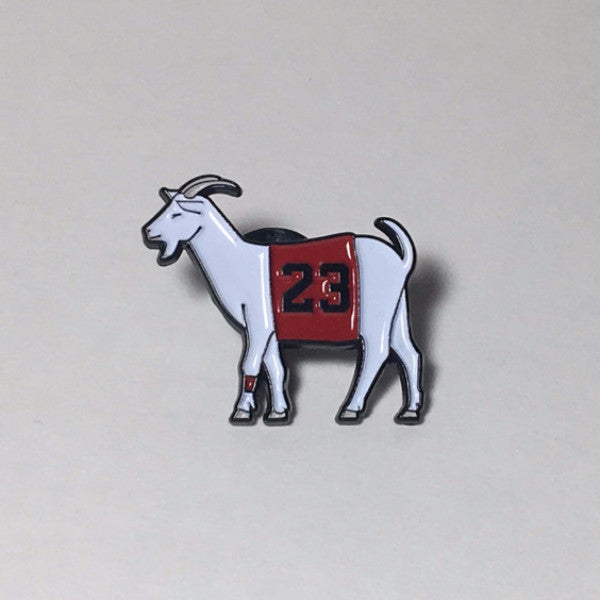 Chicago #23 GOAT Pin