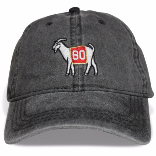 San Francisco #80 GOAT Dad hat (Black)