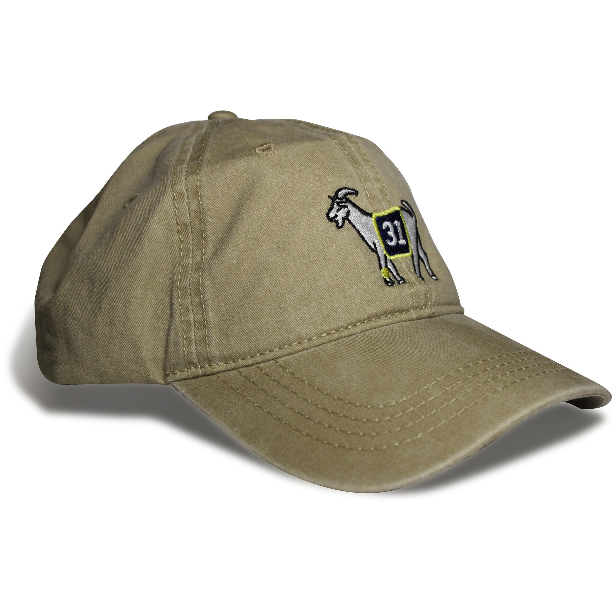 Indiana #31 GOAT Dad hat (Khaki)