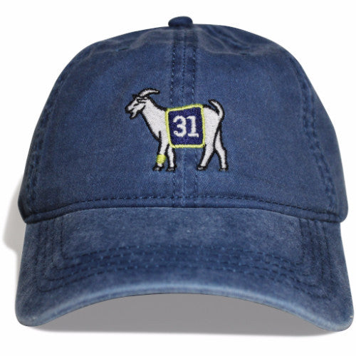 Indiana #31 GOAT Dad hat (Navy)