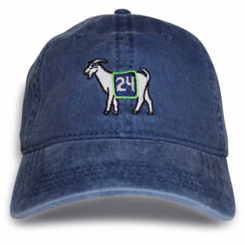 Seattle #24 GOAT Dad hat (Navy)