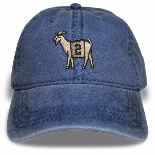 New York #2 GOAT Dad hat (Navy)
