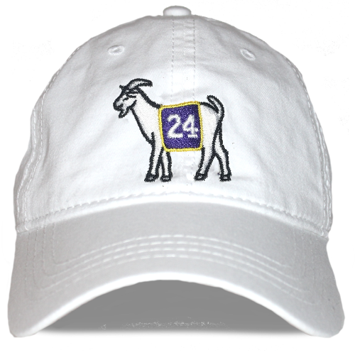 Los Angeles #24 GOAT Dad hat (White)