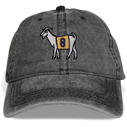 Los Angeles #8 GOAT Dad hat (Black)