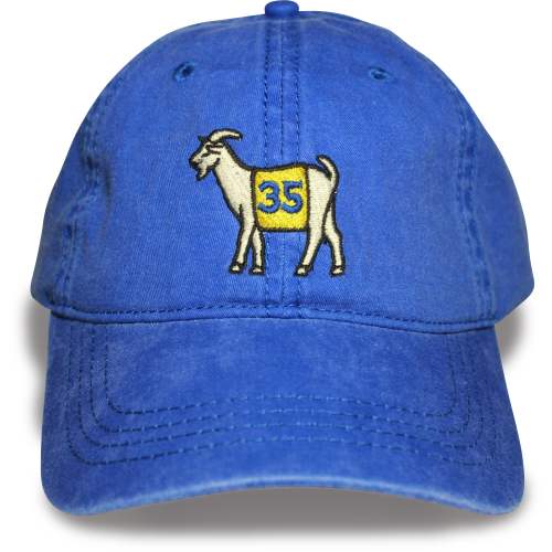 Golden State #35 GOAT Dad hat (Blue)