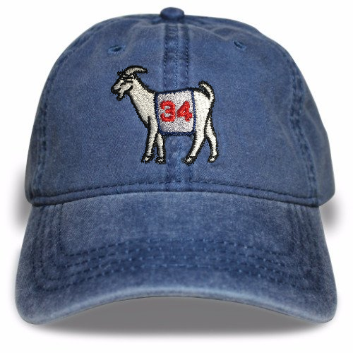 Boston Baseball #34 GOAT Dad hat (Navy)